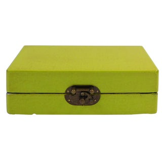 Rectangular Chinese Box in Lime