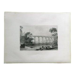 "1883 Antique Print ""Washington"""