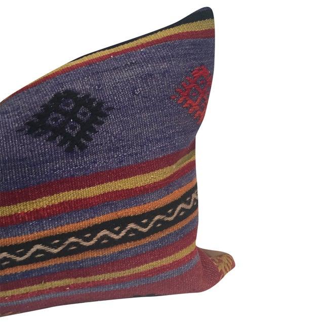 Vintage Kilim Lumbar Pillow - Image 2 of 3