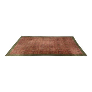 Odegard Handwoven Silk Area Rug -- 7′2″ × 12′2″