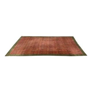 Odegard Handwoven Silk Area Rug - 7′2″ × 12′2″
