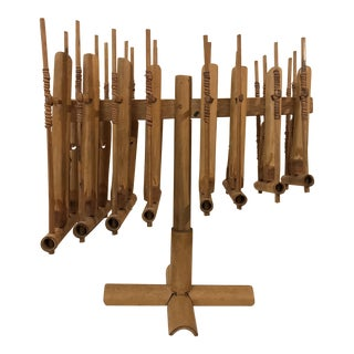 Vintage Bamboo Reed Handmade Musical Instrument