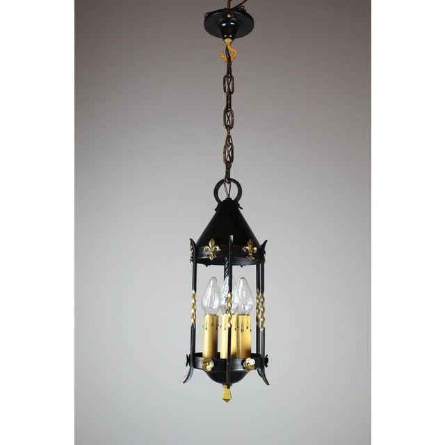 Spanish Colonial Lantern by Moe Bridges Co. - Image 2 of 7