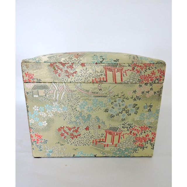 Oriental Brocade Jewelry Box - Image 4 of 5
