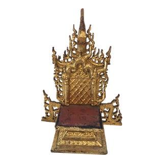 Antique Thai Deity Altar