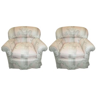 Pastel Pink Love Seats - A Pair