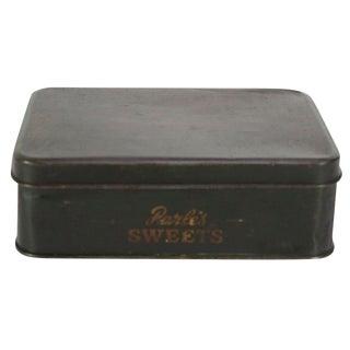 Vintage Candy Tin Box