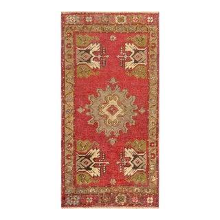 "Pasargad Vintage Sivas Wool Area Rug - 1' 6"" X 3' 0"""