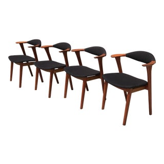 Kierkegaard Danish Modern Dining Chairs - Set of 4