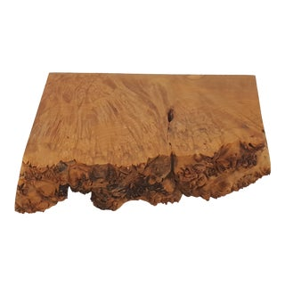 Michael Elkan Burl Wood Live Edge Box
