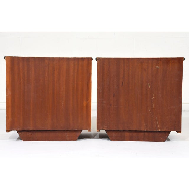 Pair of Mid-Century Modern Nightstands or Side Tables - Image 10 of 10