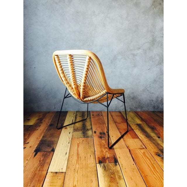 Wicker Style Lounge Chairs - A Pair - Image 4 of 5