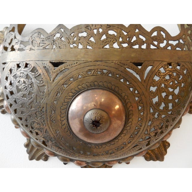 Moroccan Wall Sconces - A Pair - Image 4 of 8
