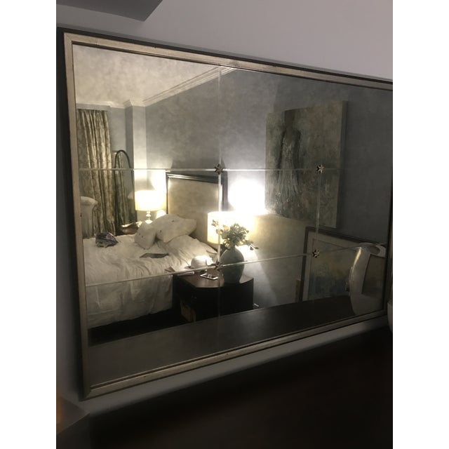 Ethan Allen Rosette Wall Mirror - Image 3 of 4