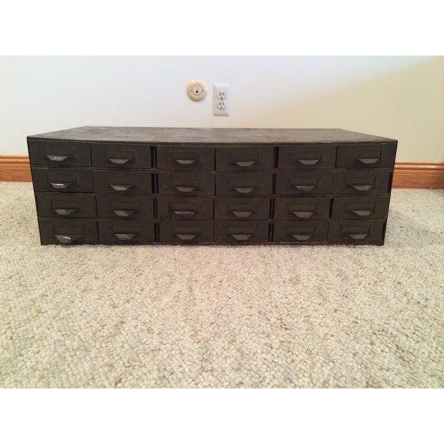 lyon drawer cabinet chairish. Black Bedroom Furniture Sets. Home Design Ideas