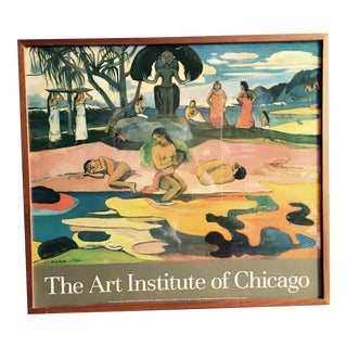 Art Institute of Chicago, Paul Gauguin 'Day of the Gods' Print
