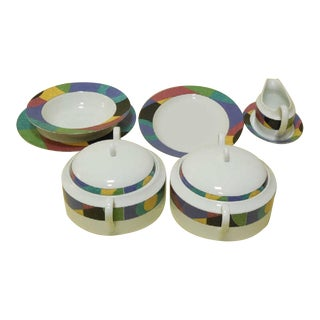 "Mikasa Memphis ""Currents"" Serving Pieces - Set of 6"