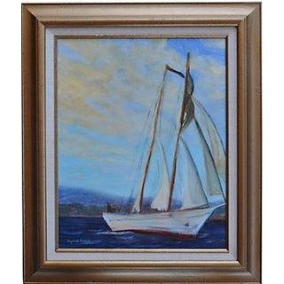 Irving Johnson, Santa Barbara Seascape Painting