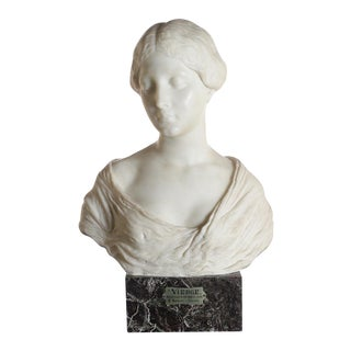 Antique Italian Marble Bust of a Female