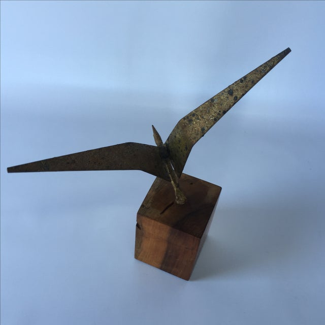 Curtis Jere Brass Seagull - Image 5 of 6