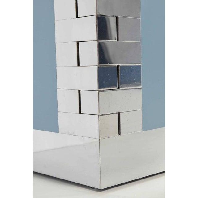 Paul Evans Custom Brick Hinge Console - Image 4 of 9