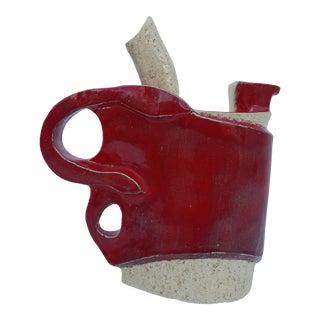 Vintage Jeanne Art Handmade Decorative Studio Pottery Vase