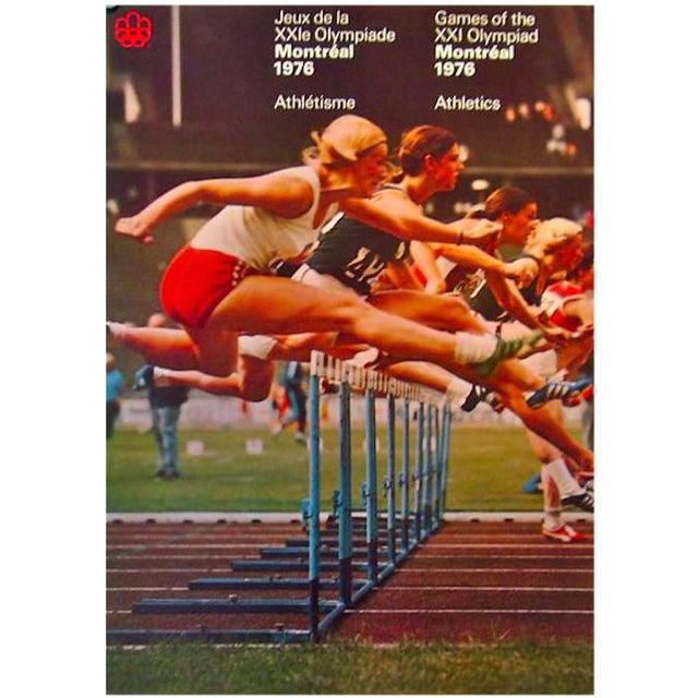 1976 Montreal Olympics Athletics Poster - Image 1 of 2