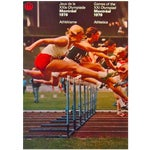 Image of 1976 Montreal Olympics Athletics Poster