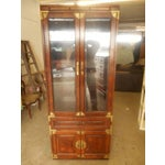 Image of Bernhardt Oriental Lighted Display Cabinet