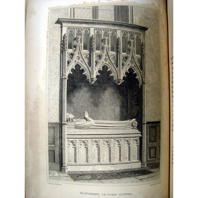 Monuments & Sepulchres of England Book, 1826 - Image 9 of 10
