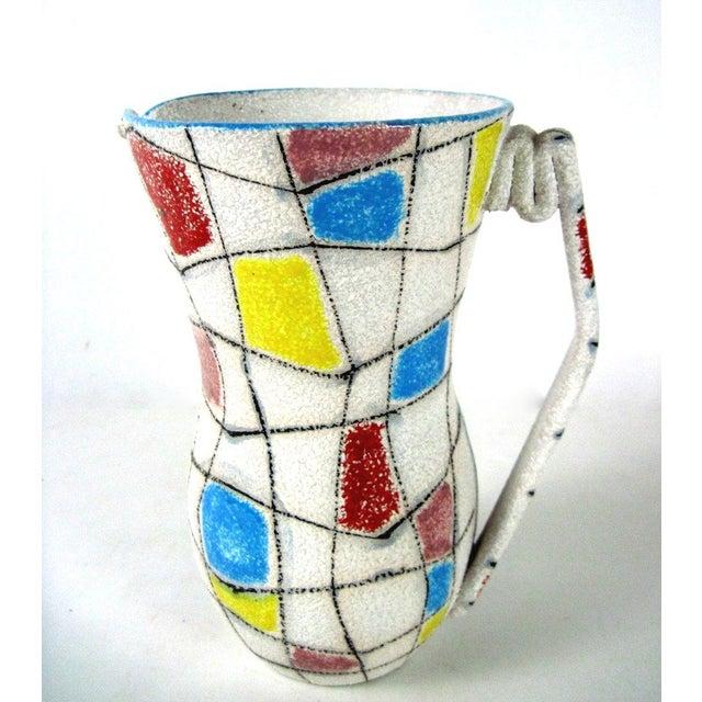 A. Londi Style Art Pottery Pitcher - Image 4 of 7