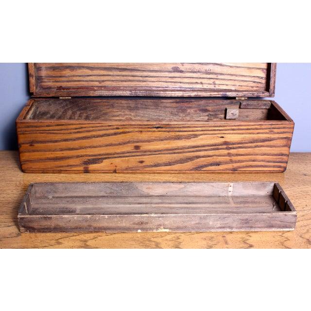 Late 1940s Elizabeth Bensley Wooden Box - Image 4 of 7
