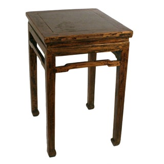 Elmwood Table with Stone Top