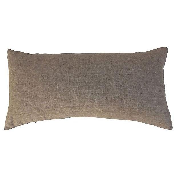 Image of Faded Indigo Batik Body Pillow