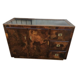 American of Martinsville Patchwork Dry Bar Buffet