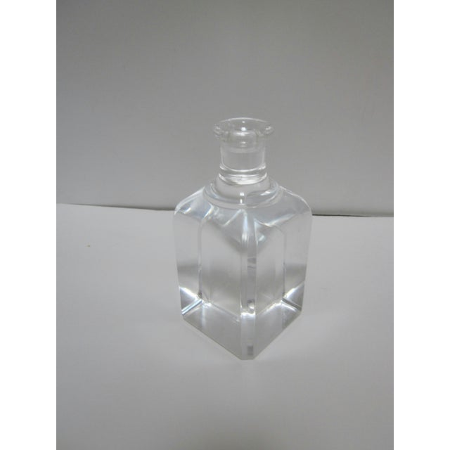 Ritts Lucite Hollywood Regency Candle Holder - Image 6 of 7