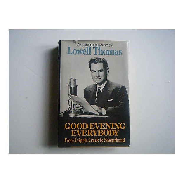Lowell Thomas Autobiography 1970s Radio Book - Image 2 of 5