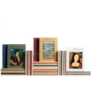 Vintage Horizon Collection Books - Set of 47