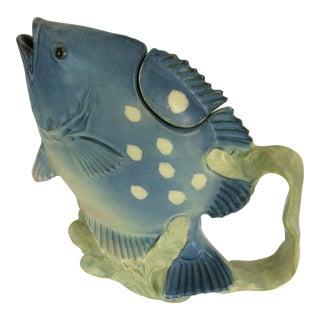 Hand Painted Tarahashi San Francisco Fish Tea Pot