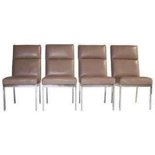 Milo Baughman Dining Chairs - Set of 4