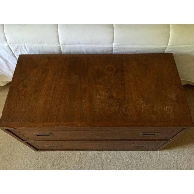 Drexel Wood Campaign Dresser - Image 6 of 7