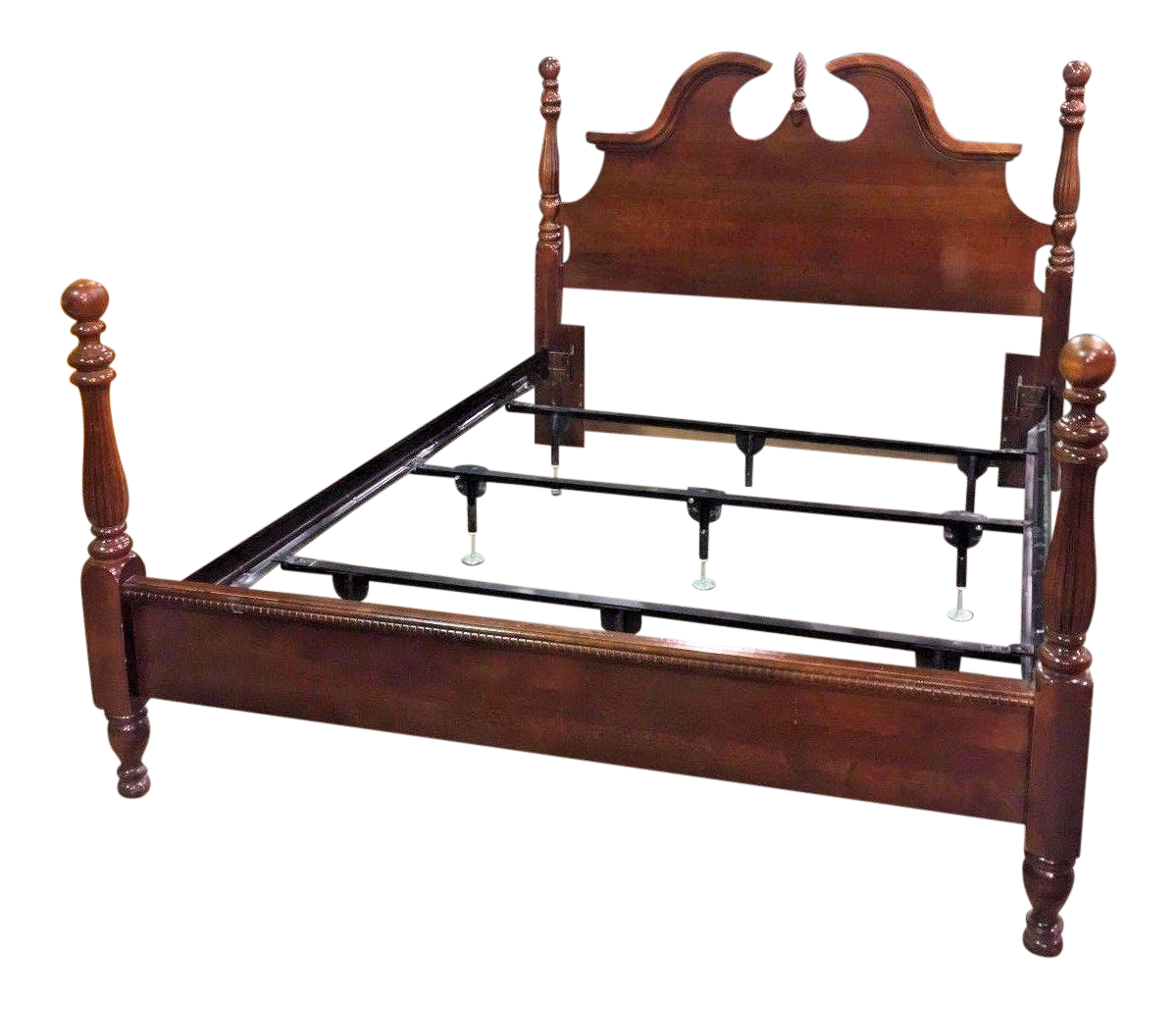 queen size fourposter bed chairish