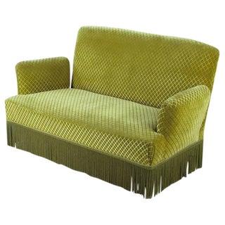 Napoleon III Style Upholstered Sofa, 1940s