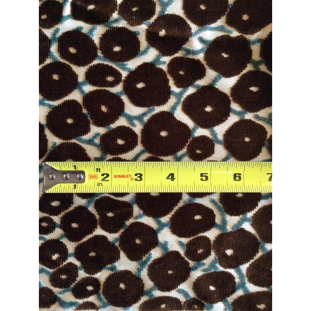 Image of Velvet Brown Berry Fabric