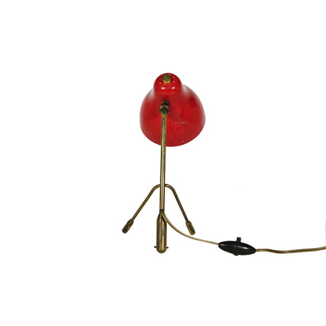 Jacques Biny Tripod Table/ Wall Lamp - Image 2 of 4