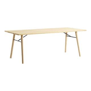 Woud Spilt Soaped Oak Dining Table