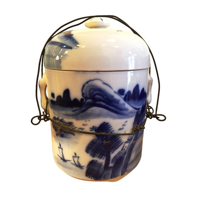 Chinese Food Container with Lid - Image 1 of 6