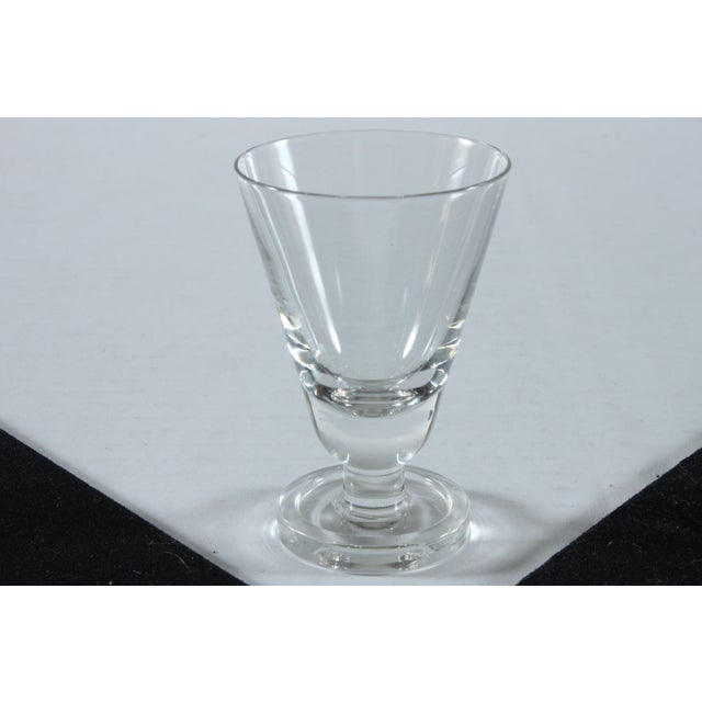 Image of Heavy Footed French Shot Glasses - Set of 7