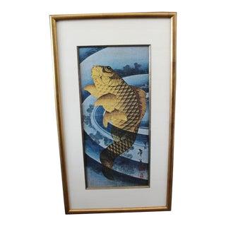 Vintage Japanese Carp Print