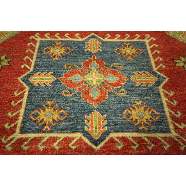 Super Kazak Area Rug Red - 9' x 12' - Image 8 of 11